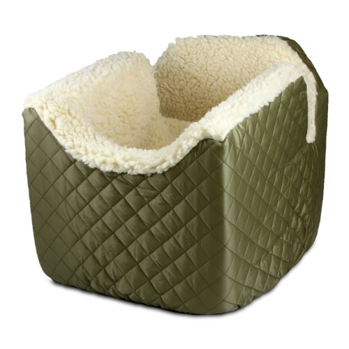 Snoozer Lookout I Pet Car Seat, Medium, Khaki