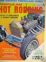 POPULAR HOT RODDING---VINTAGE MAGAZINE---AUGUST 1966