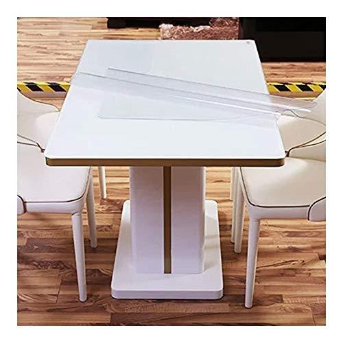 YONGQUAN Tabla Cubierta Antideslizante Mantel Protector de PVC fácil de Limpiar y Resistente, Impermeable Estera de la Silla Personalizable (Color : 2MM, Size : 70x120cm)