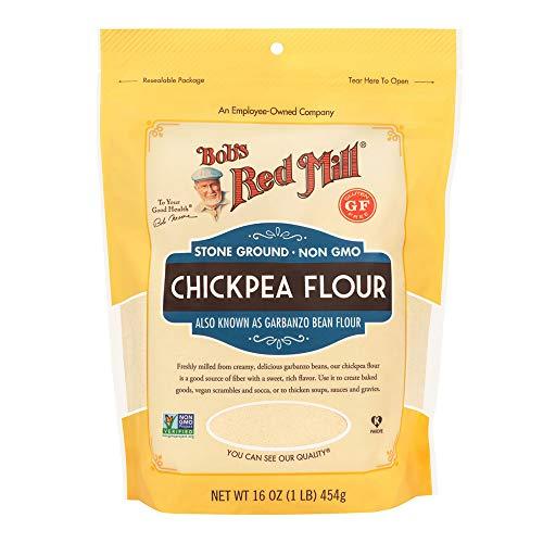 Bobs Red Mill Garbanzo Bean Flour, 16 Ounce (Pack of 1)