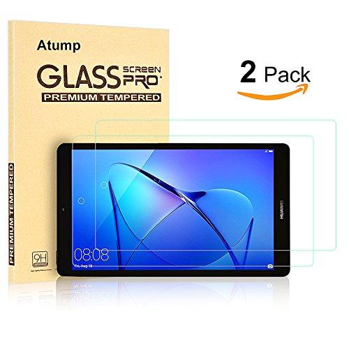 [2 Stück] Huawei MediaPad T3 7.0 Panzerglas Schutzfolie Glas Folie Panzerfolie for Huawei MediaPad T3 7.0 Displayfolie - 9H Hardness aus gehärtetem Glas - 2