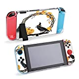 SUPNON Watercolor Helloween Wreath and Raven Compatible with Nintendo Switch Console & Joy-Con Protective Case, Durable Flexible Shock-Absorption Anti-Scratch Drop Protection Cover Shell Design20915