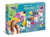 Clementoni-55205 - Fabrica de Jabones - juego científico a partir de 8 años