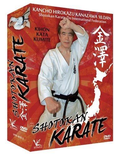3 DVD Box Collection Shotokan Karate Kihon Kata & Kumite