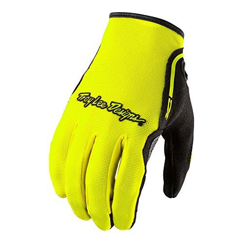 Troy Lee Designs - Guanti da XC da uomo, Uomo, Troy Lee Designs 2019 Xc Gloves, Solid Flo Yellow, Small