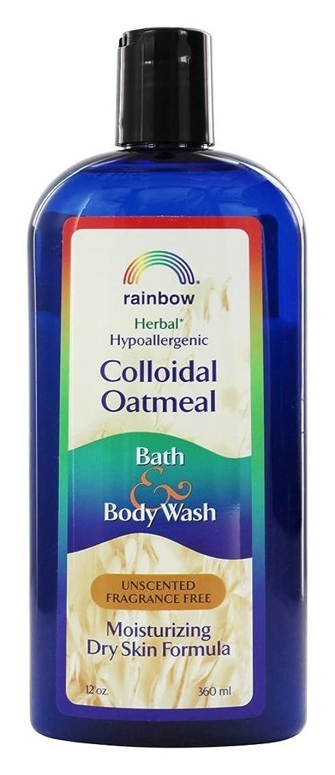 責めるお酢かすれたRainbow Research - コロイド オートミール風呂と無香料ボディソープ - 12ポンド [並行輸入品]