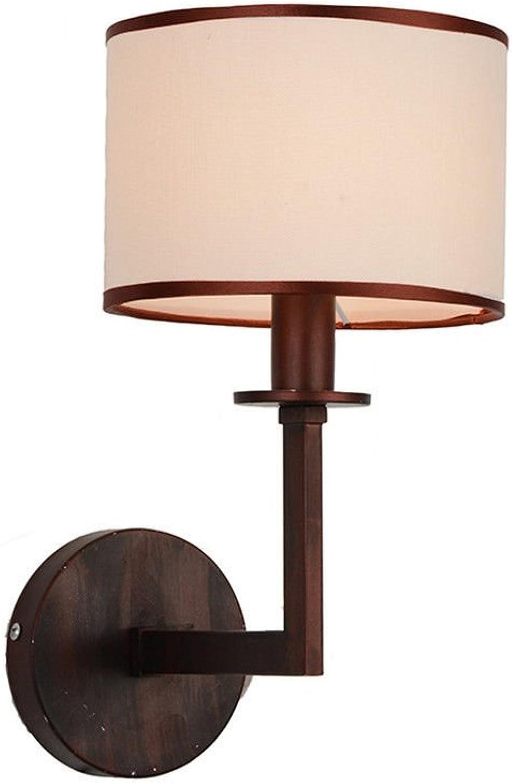 Wandleuchte,Europische kreative LED-Wohnzimmer Wand Retro-Lampe Gang Schlafzimmer Nachttischlampen Innenbeleuchtung Beleuchtung (2D95) Wand Lampe