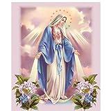 MAIYOUWENG Rompecabezas 1000 Piezas Puzzle De Madera Virgen María Patrón Decoraciones De La Familia, Regalo De Cumpleaños Único Adecuado para Adolescentes Y Adultos