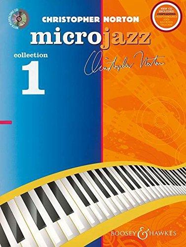 The Microjazz Collection 1 (Neuausgabe): Leichte Klavierstücke und Übungen in modernen Stilarten. Klavier. Ausgabe mit CD.