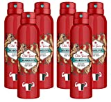 Old Spice Deodorant Body Spray, Bearglove Scent for Men, 5.07 Ounce (Pack of 6)