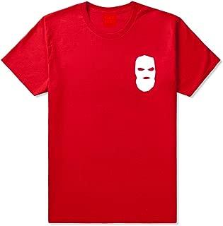 Kings Of NY Ski Mask Chest Logo New York Hood T-Shirt