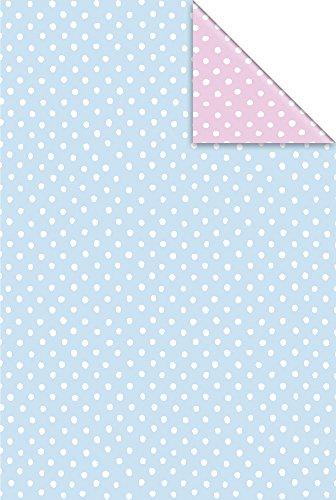 Stewo 2528778740 Geschenkpapier Baby Minni, 2-seitig bedruckt, Rolle im Format, 70 x 200 cm