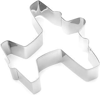 Fox Run Airplane Cookie Cutter, 3-Inch, Stainless Steel