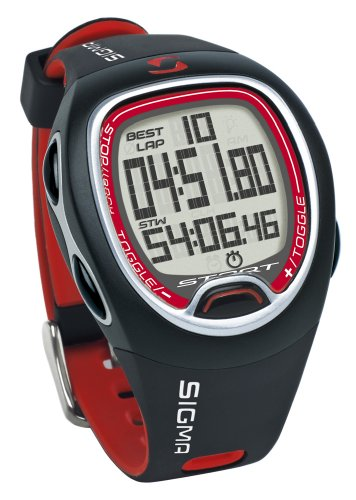 Sigma Sport Stopuhr SC 6.12, black, 26120