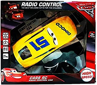 Cars Remote control from RC - Yellow