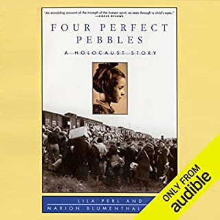Four Perfect Pebbles audiobook cover art