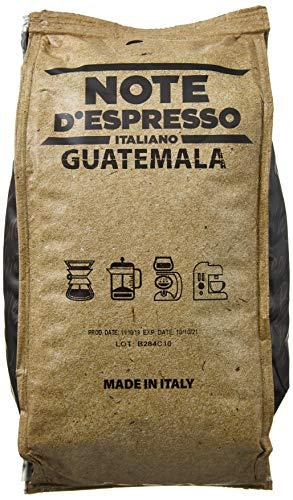 Note D'Espresso Guatemala Single-Origin-Kaffeebohnen, 250g x 4 Pakete