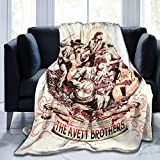 ChangLiXianZiHang The Avett Brothers Fleece Blanket Ultra-Soft Air Conditioning Blanket Fit Bed Couch Office Dormitory Outdoors Camping Etc