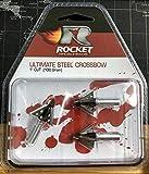 Rocket Broadheads Ultimate Steel 100 Grain Broadheads - 3 Pack