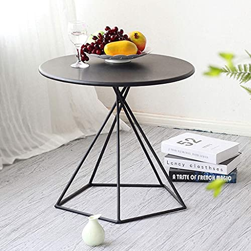 N/Z Home Equipment Wrought Iron End Table Round Living Room...