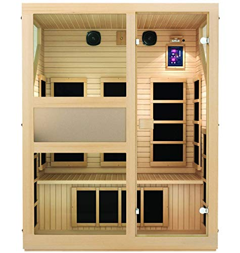 JNH Lifestyles ENSI Collection 3 Person Sauna