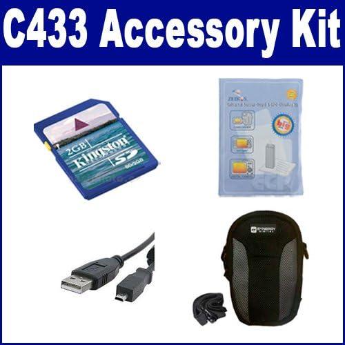 Kodak Daily bargain sale C433 Digital Camera Accessory Kit includes: Cabl Max 42% OFF USBU8 USB