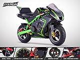 Pocket Course ZR 49 - DIAMON - Mini Moto Enfant 50cc - Vert