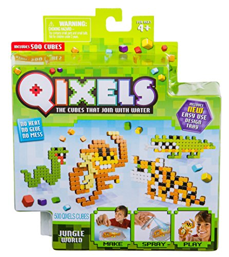 Qixels Theme Pack Jungle World Toy