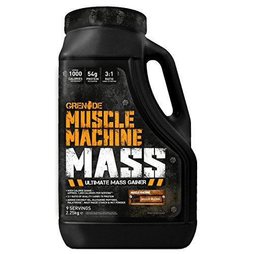 Grenade Muscle Machine Mass Chocolate Milkshake - 2250 gr