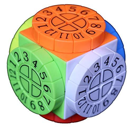 Cubo De Tercer Orden Estructura Compleja De Máquina De Tiempo De Rompecabezas De Velocidad 3x3 Cubo