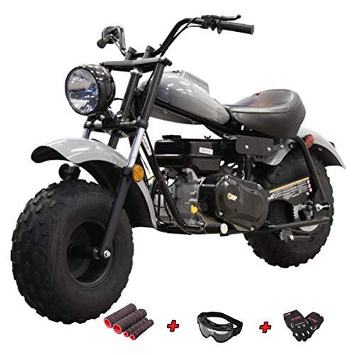 X-PRO Supersized 200CC Youth Mini Bike Gas Powered Mini Trail Bike Scooter Mini Motorcyle,Big 19