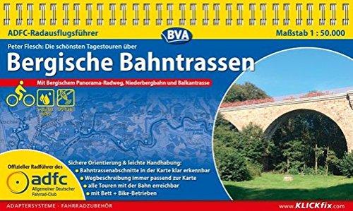 ADFC-Radausflugsführer Bergische Bahntrassen 1:50.000 praktische Spiralbindung, reiß- und wetterfest, GPS-Tracks Download: Mit Bergischem Panorama-Radweg, Niederbergbahn und Balkantrasse