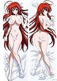 LIN-X High School D X D Rias Gremory Ruin Princess 160x50cm Japanese Peach Skin Pillowcases