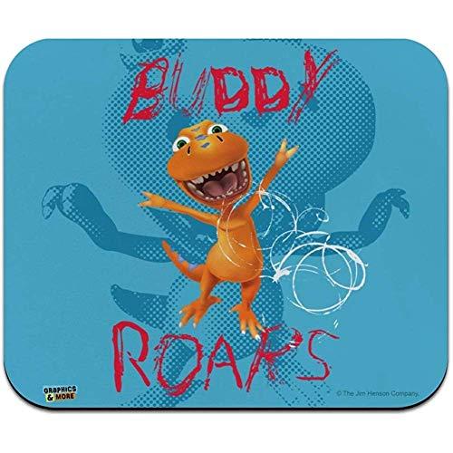 Gjid muismat, dun, muismat, dinosaurus profiel, Buddy Roars T Rex