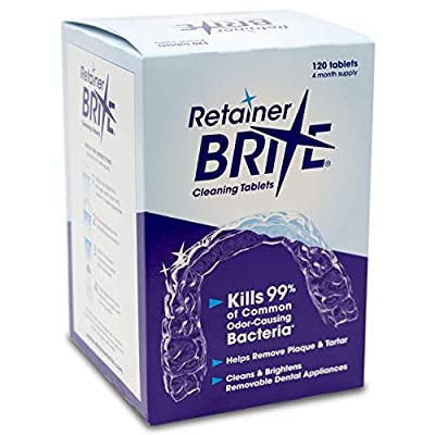 Retainer Brite Tablets for