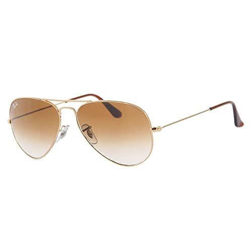 0d3ba5530d Ray-Ban Classic Aviator Sunglasses in Gold Brown Gradient RB3025 001 51 62