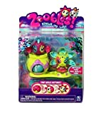 Zoobles Asteria #059 and Ann Chovie #060 + Happitat [Seagonia Collection] Zoobles pop open to reveal fun collectibles characters. Set contains 2 Zoobles and 1 Happitat