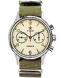 Seagull 1963 40MM Zafiro Crystal ST1901 Movimiento Reloj Cronógrafo para Hombre 1963...