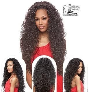 Vanessa Express Synthetic Hair Half Wig Super Weave Las MOGAN (F2414)
