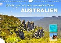 Erlebe mit mir das unvergleichliche Australien (Wandkalender 2022 DIN A4 quer): Einer der schoensten Kontinente der Welt. (Monatskalender, 14 Seiten )