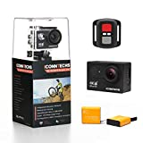 ICONNTECHS IT Full HD 1080P Wasserfeste Sport-Actionkamera, 170 Weitwinkellinse, WiFi HDMI...