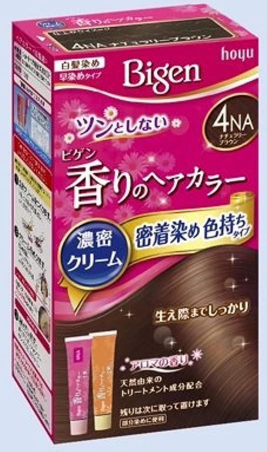 受賞ブラケット落ちたビゲン 香りのヘアカラー クリーム 4NA ナチュラリーブラウン × 27個セット
