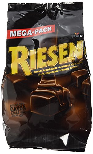 RIESEN (1 x 900g) / Karamellbonbon umhüllt von dunkler Schokolade