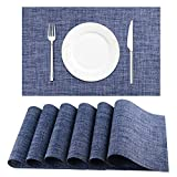 BETEAM Placemats, Heat-Resistant Placemats Stain Resistant...