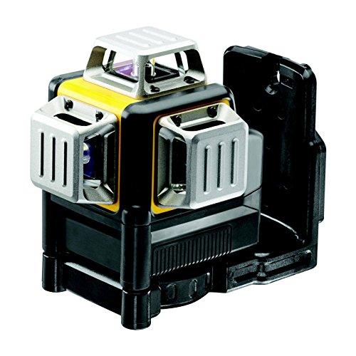 DeWalt DCE089LR-XJ Multilinienlaser 3x360°,rot,m. Batterien, schwarz gelb