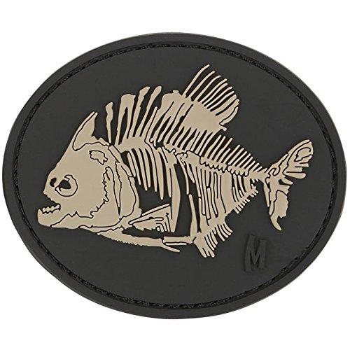 Maxpedition Piranha Bones Patch, Swat