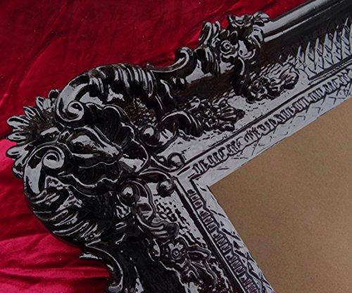 lnxp fotos Marco Negro 96x 57cm boda marco marco de fotos barroco rococó Repro Antiguo Shabby Chic Renaissance juvenil estilo retro diseño con ornamentos verziehrungen prunk Completo de Lujo