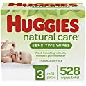 528-Pack Huggies Natural Care Sensitive Baby Wipes