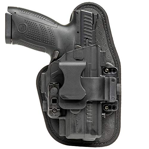 Alien Gear holsters ShapeShift Appendix Carry Holster S&W M&P380 Shield EZ (Right Handed)