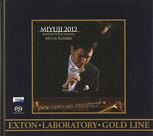 <EXTON Laboratory Gold Line>金子三勇士2012バルトーク:ピアノ・ソナタ、他